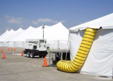 Climate Controlled Tent